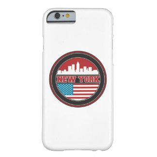 Coque Barely There iPhone 6 L'horizon | Etats-Unis de New York diminuent
