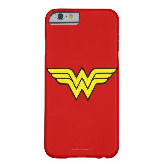 Coque Barely There iPhone 6 Logo classique de la femme de merveille |
