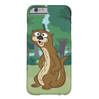 Coque Barely There iPhone 6 Loutre de Rick | Reggie de garde forestière