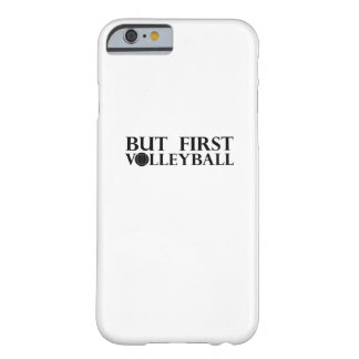 Coque Barely There iPhone 6 Mais premier volleyball - volleyball drôle