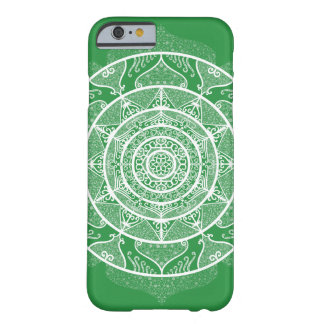 Coque Barely There iPhone 6 Mandala d'algue