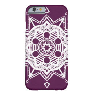 Coque Barely There iPhone 6 Mandala de Blackberry