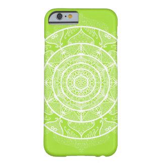 Coque Barely There iPhone 6 Mandala de chaux