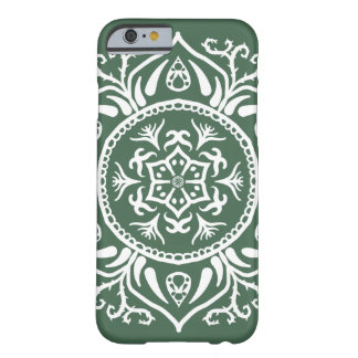 Coque Barely There iPhone 6 Mandala de forêt