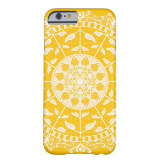 Coque Barely There iPhone 6 Mandala de miel