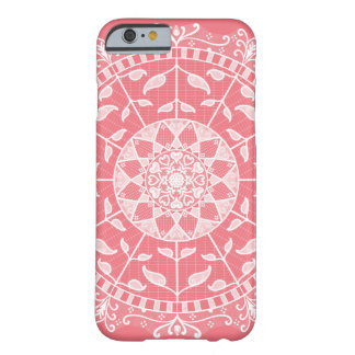 Coque Barely There iPhone 6 Mandala de pêche