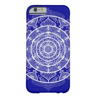 Coque Barely There iPhone 6 Mandala de saphir