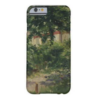 Coque Barely There iPhone 6 Manet | un coin du jardin en Rueil, 1882