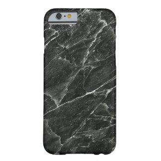 Coque Barely There iPhone 6 Marbre noir