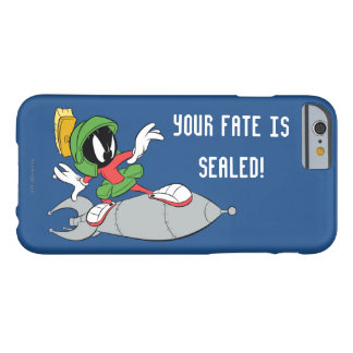 Coque Barely There iPhone 6 MARVIN le MARTIAN™ montant Rocket