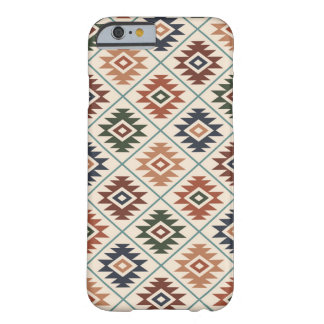Coque Barely There iPhone 6 Mélange de couleur de motif stylisé par symbole
