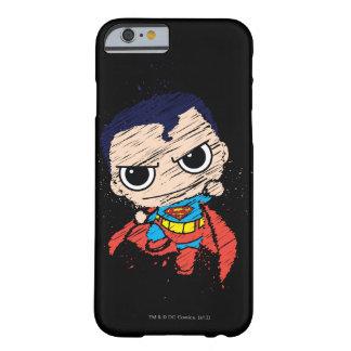 Coque Barely There iPhone 6 Mini croquis de Superman - vol
