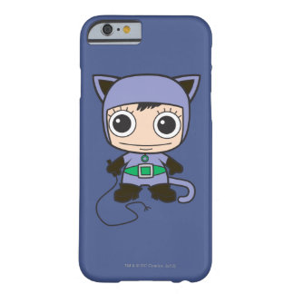 Coque Barely There iPhone 6 Mini femme de chat