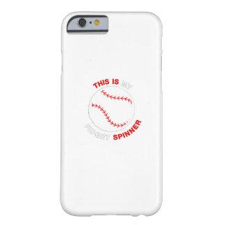 Coque Barely There iPhone 6 Mon cadeau drôle de base-ball du base-ball de