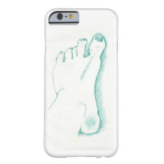 Coque Barely There iPhone 6 Mon pied