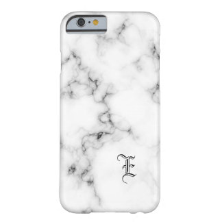 Coque Barely There iPhone 6 Monogramme de marbre