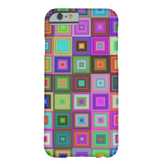 Coque Barely There iPhone 6 Motif carré