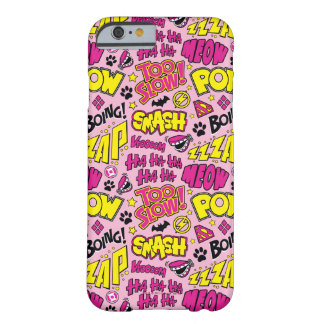 Coque Barely There iPhone 6 Motif comique d'expressions et de logos de Chibi