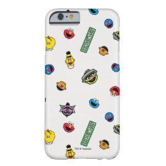Coque Barely There iPhone 6 Motif de caractère de Sesame Street