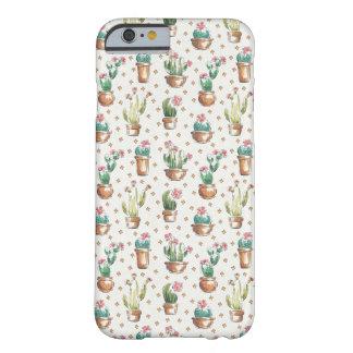 Coque Barely There iPhone 6 Motif de fleur d'étape | de fleur de désert