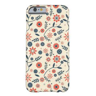 COQUE BARELY THERE iPhone 6 MOTIF DE FLEURS