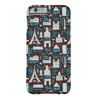Coque Barely There iPhone 6 Motif de symboles de la France |