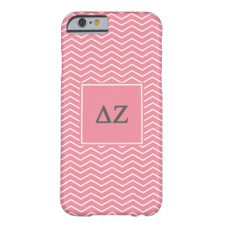 Coque Barely There iPhone 6 Motif de Zeta | Chevron de delta