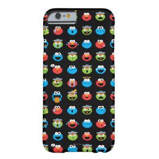 Coque Barely There iPhone 6 Motif d'Emoji de copains de Sesame Street
