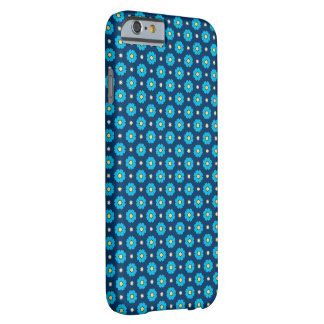 Coque Barely There iPhone 6 Motif floral bleu