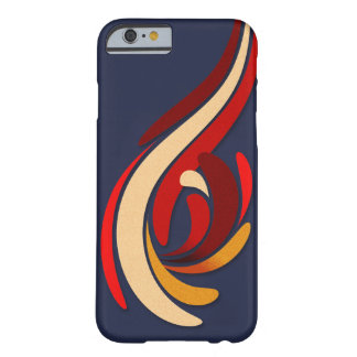 Coque Barely There iPhone 6 Motif moderne chaud de Flourish