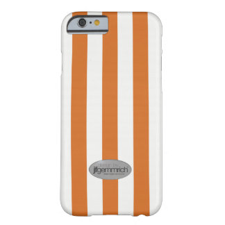 """Coque Barely There iPhone 6 """"Orange"""" Lines"""