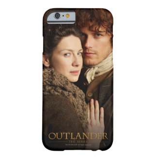 Coque Barely There iPhone 6 Outlander | Jamie et photographie d'étreinte de
