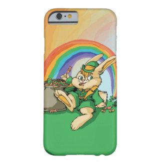 Coque Barely There iPhone 6 Petit lapin drôle de Patrick de saint