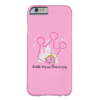 Coque Barely There iPhone 6 Petite couronne rose géante de Mlle le princesse |