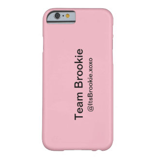 Coque Barely There iPhone 6 Phonecase de Brookie