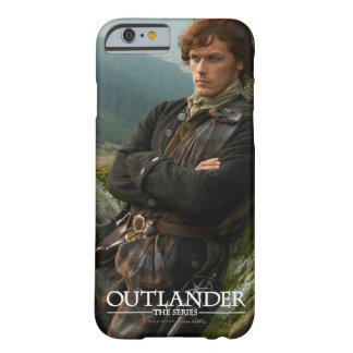 Coque Barely There iPhone 6 Photographie étendue de l'Outlander | Jamie Fraser