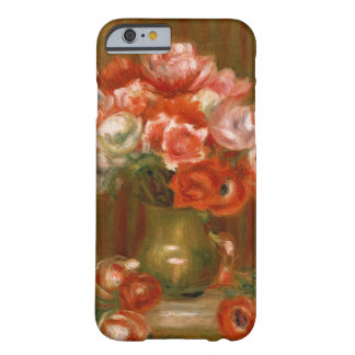 Coque Barely There iPhone 6 Pierre anémones de Renoir un |