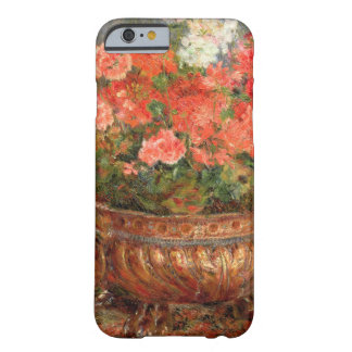 Coque Barely There iPhone 6 Pierre géraniums de Renoir un | dans un bassin de