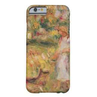 Coque Barely There iPhone 6 Pierre un paysage de Renoir | avec l'épouse de