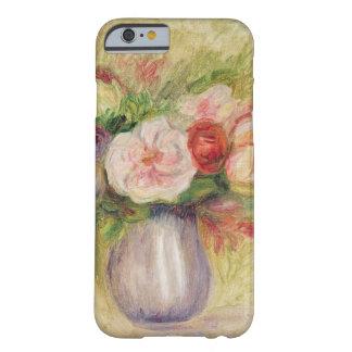 Coque Barely There iPhone 6 Pierre un vase à Renoir   de fleurs