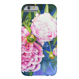 Coque Barely There iPhone 6 Pivoine