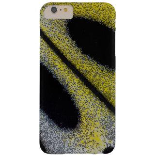 Coque Barely There iPhone 6 Plus Aile repérée et jaune de papillon