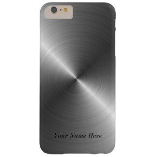 Coque Barely There iPhone 6 Plus Ajoutez votre cas en acier nommé de l'iPhone 7 de