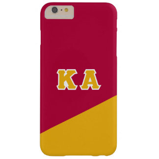 Coque Barely There iPhone 6 Plus Alpha lettres de Grec de l'ordre | de Kappa