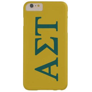 Coque Barely There iPhone 6 Plus Alpha logo de Tau Lil de sigma grand