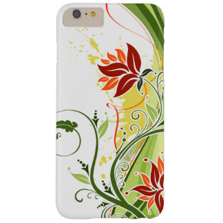 Coque Barely There iPhone 6 Plus Amour rouge de Lotus