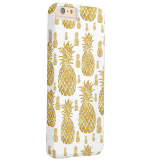 Coque Barely There iPhone 6 Plus ananas d'or