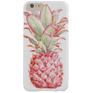 Coque Barely There iPhone 6 Plus Ananas | rose tropical