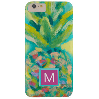 Coque Barely There iPhone 6 Plus Ananas tropical coloré
