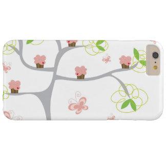 Coque Barely There iPhone 6 Plus Anniversaire lunatique de bonbon à papillons